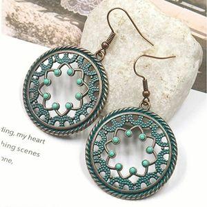 Jewelry - Boho vintage dangle gypsy style earrings..NWT